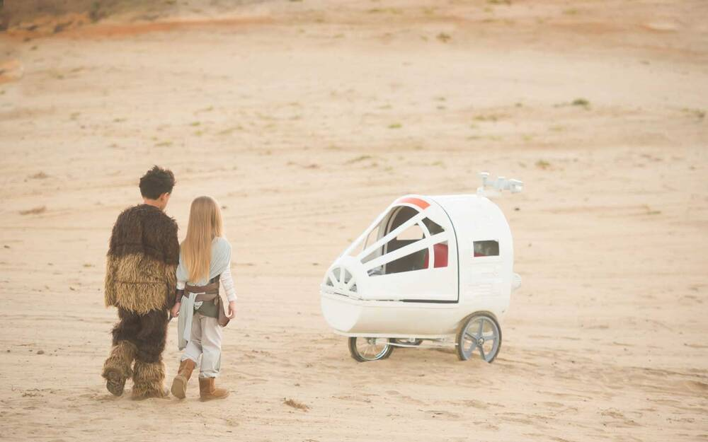 you can now rent a spaceship stroller for your next walt disney