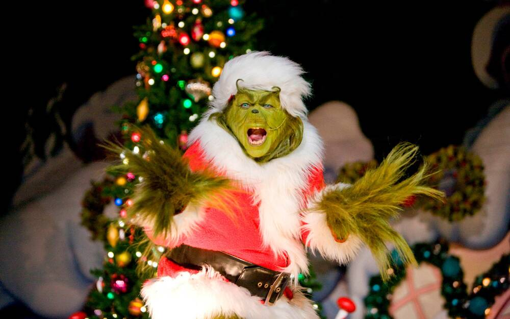 you can meet the grinch this winter in a real life whoville travel