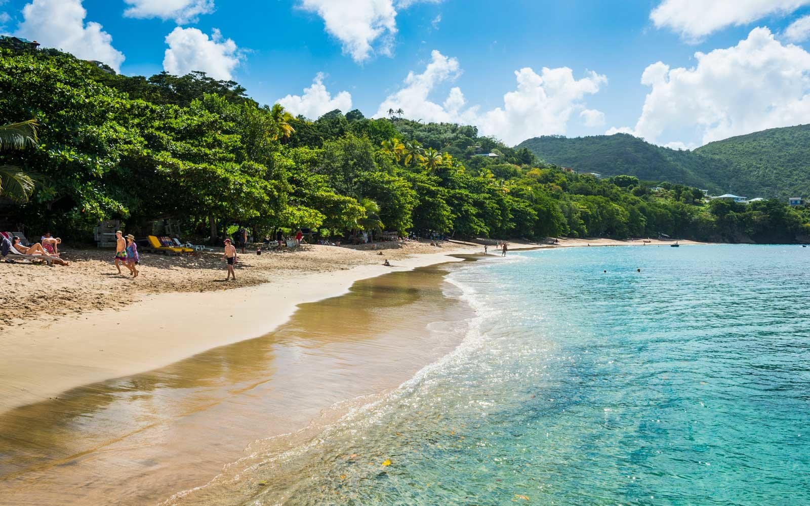 Princess Margaret beach, Admiralty Bay, Bequia, The Grenadines, St. Vincent and the Grenadines, Windward Islands, West Indies, Caribbean, Central America