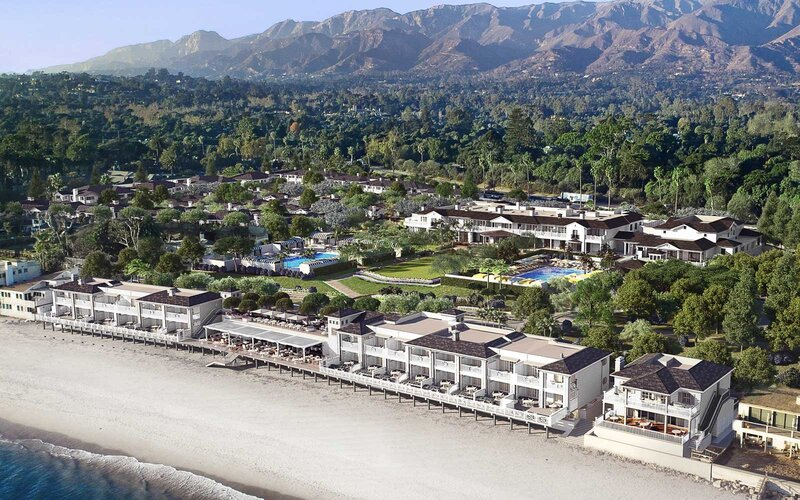 Rosewood Miramar Beach resort in Montecity, California