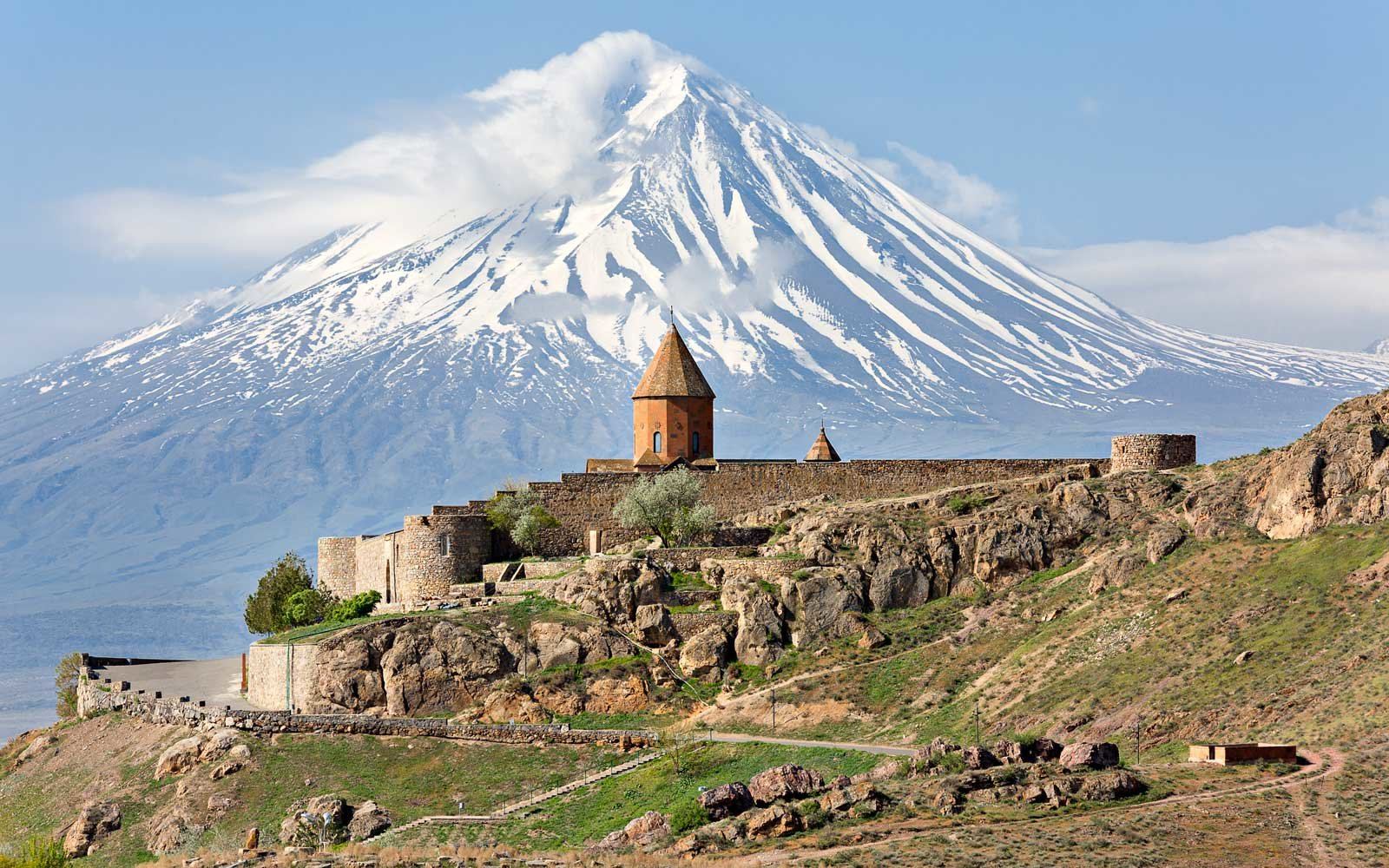 Khor Virap Church Complex and Mount Ararat, Armenia