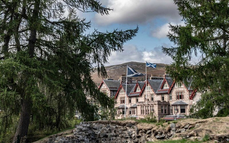 The Fife Arms Hotel, in rural Scotland