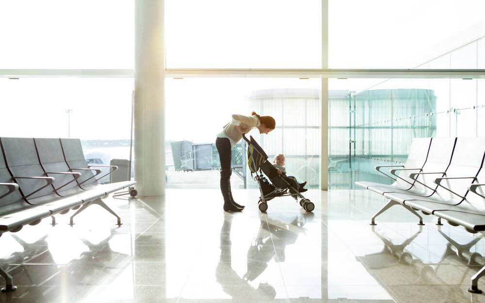 Tips For Flying With A Baby Travel Leisure