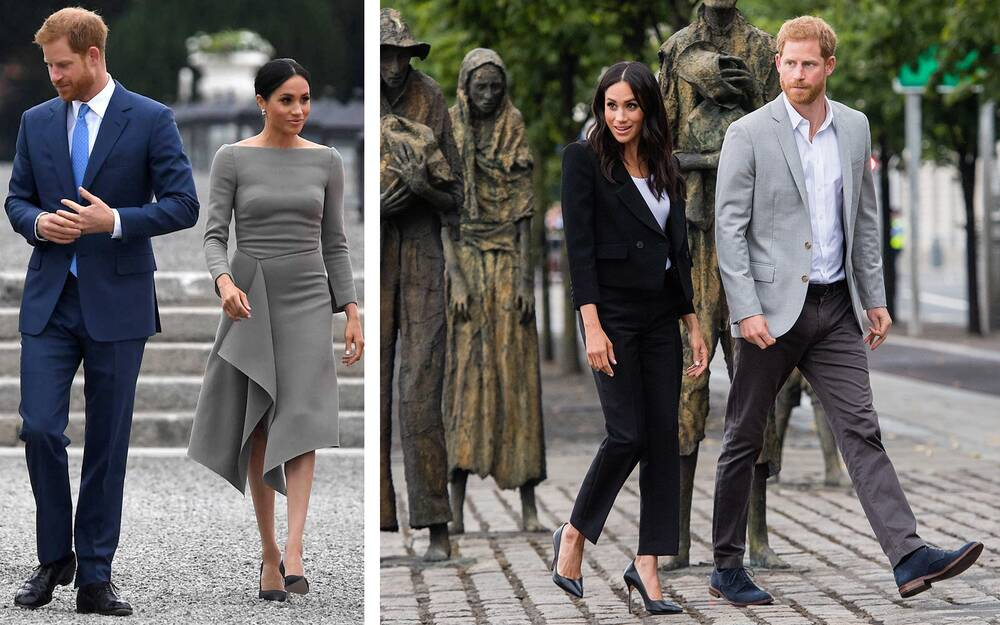 meghan markle just wore an estimated 22 000 worth of clothing in 90