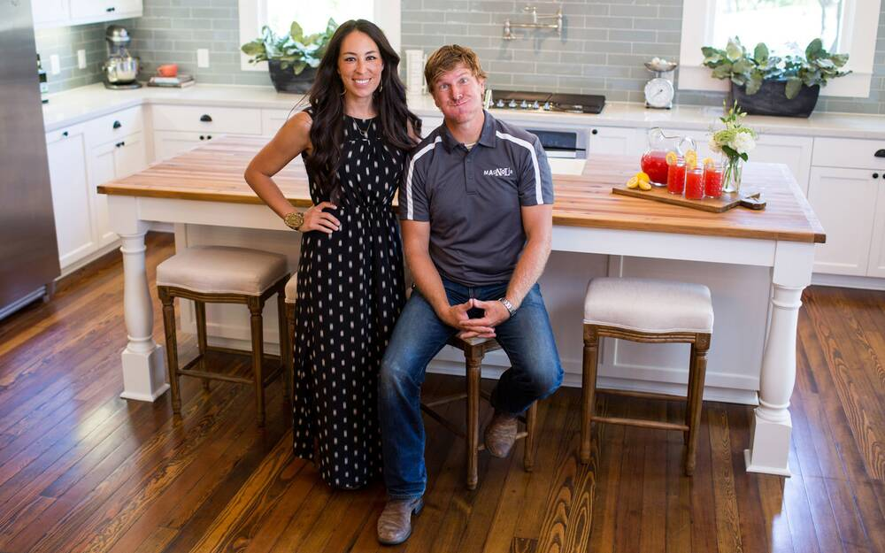 Chip And Joanna Gaines From The Show Fixer Upper