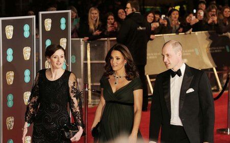 Why Kate Middleton Didnt Wear Black At The Baftas Travel Leisure