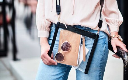 9 clear bags that are actually stylish travel leisure