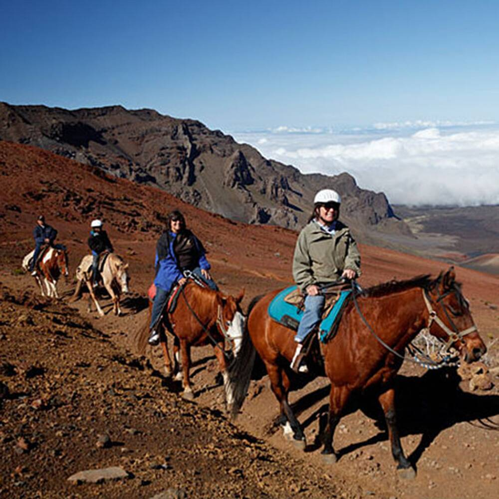 where to go horseback riding on maui travel leisure