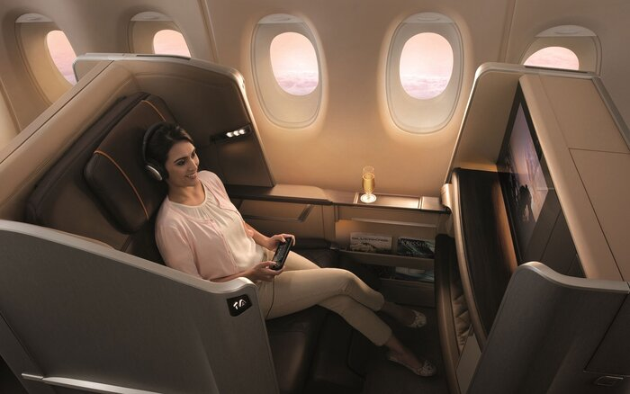 201412 W Innovative Airplane Seat Designs Singapore Airlines