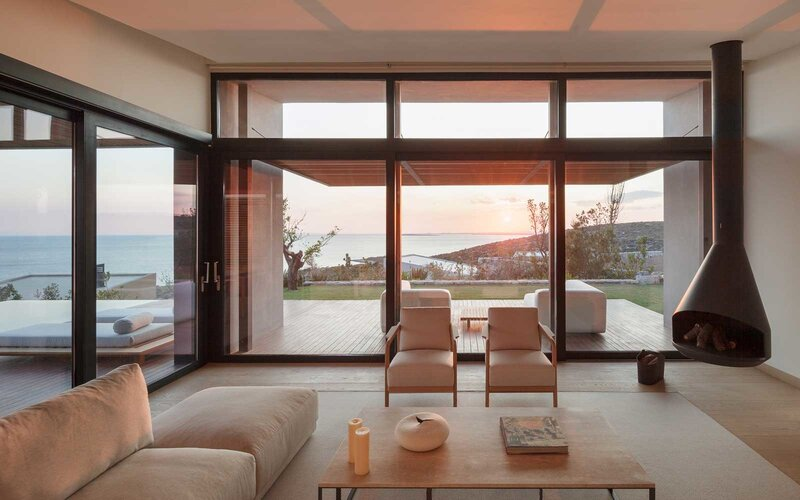 View from a suite at the Six Senses Kaplankaya Turkey