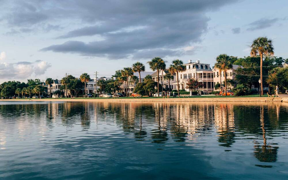 Homes On The Water In Charleston South Carolina