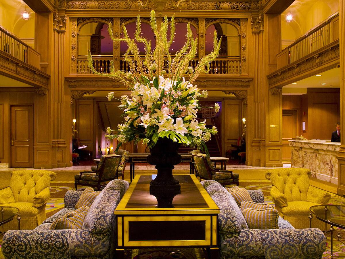 The Fairmont Olympic Hotel   Travel + Leisure
