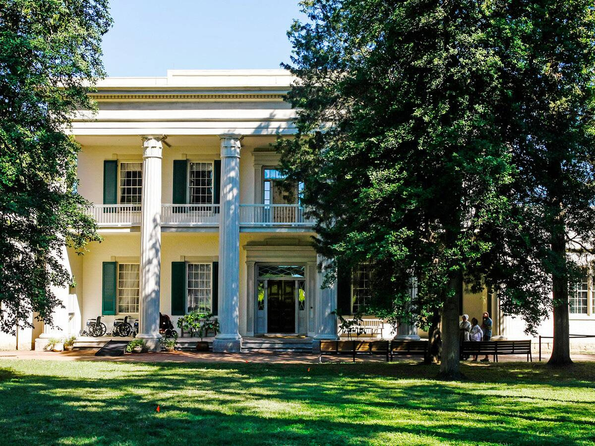 andrew jackson s hermitage travel leisure