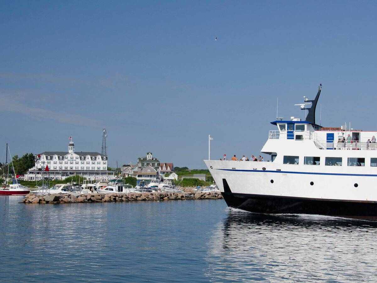 block island ferry | travel + leisure