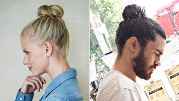 How Wearing a Top Knot Might Actually Lead to Bald Spots - Health