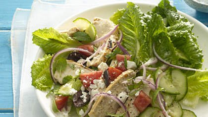 Greek Salad With Grilled Chicken Recipe Health