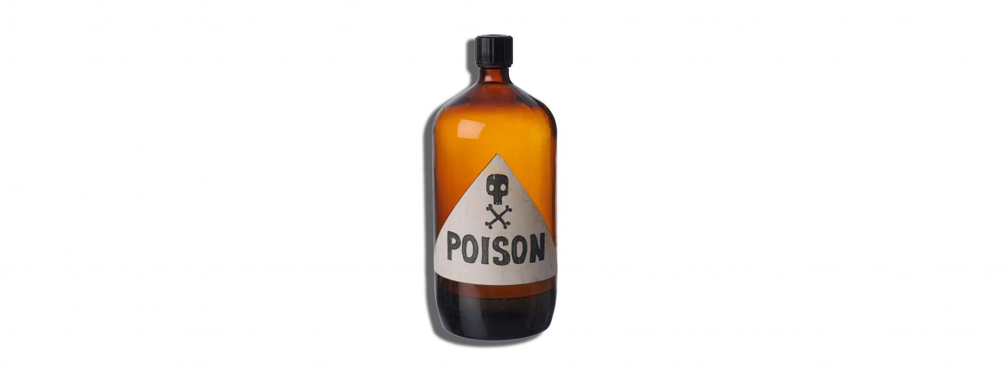 Poison Bottle Generic Getty Images Drinking High Concentration Hydrogen Peroxide