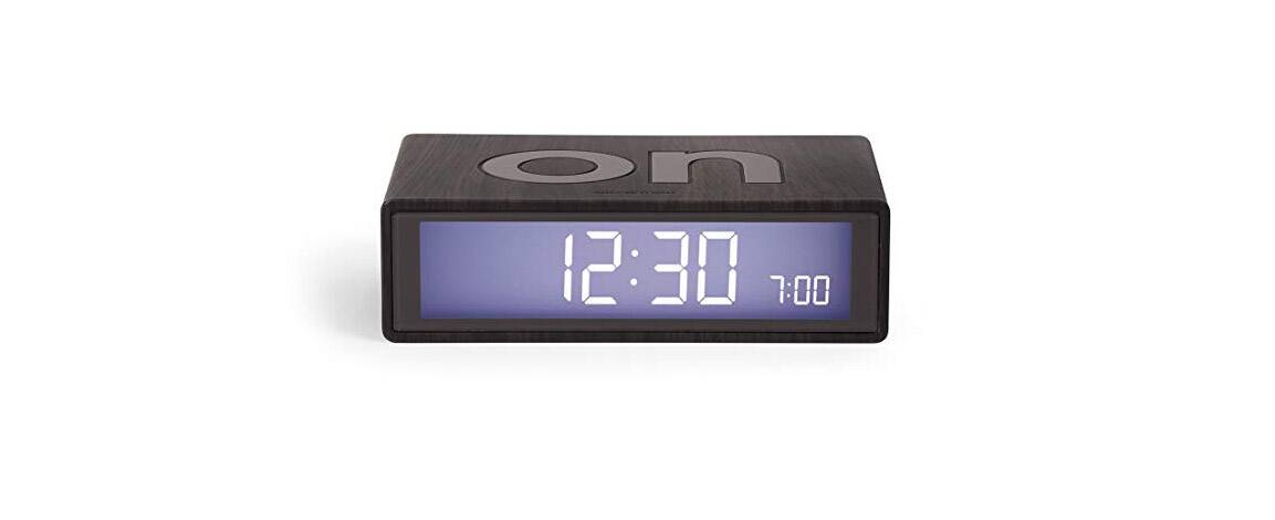 Lexon Flip On Off Alarm Clock