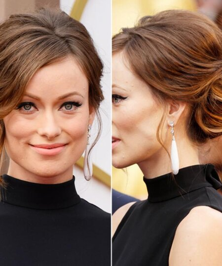 Updo Hairstyles Easy Long Medium Short Updos Instyle Com