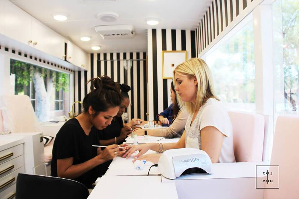 Introducing Colvon: The Luxe Nail Salon on Wheels! | InStyle.com