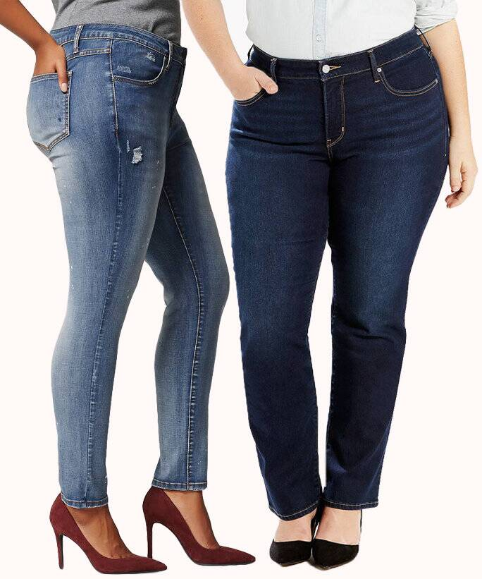 A Guide To The Best Jeans For Plus Size Women Instyle