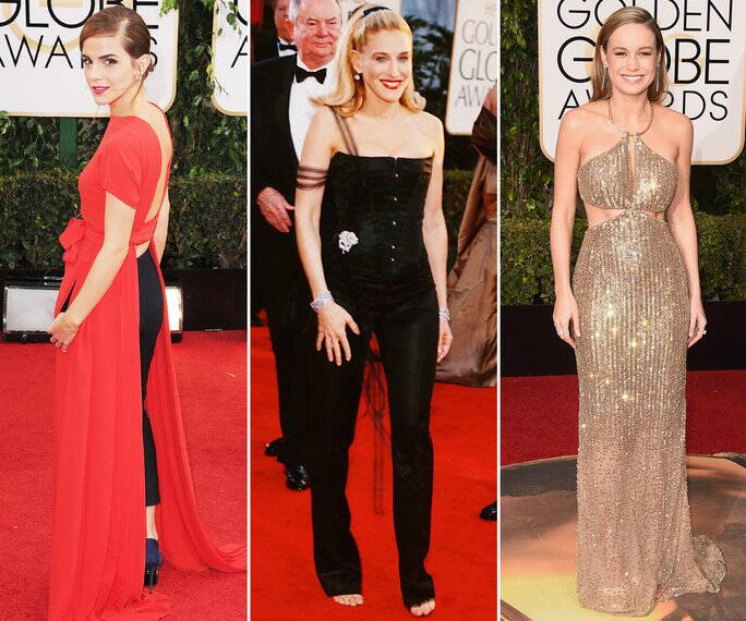 The Riskiest Golden Globe Gowns Ever | InStyle.com