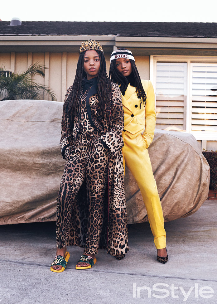 <p>InStyle June 2017: Chloe and Halle</p>