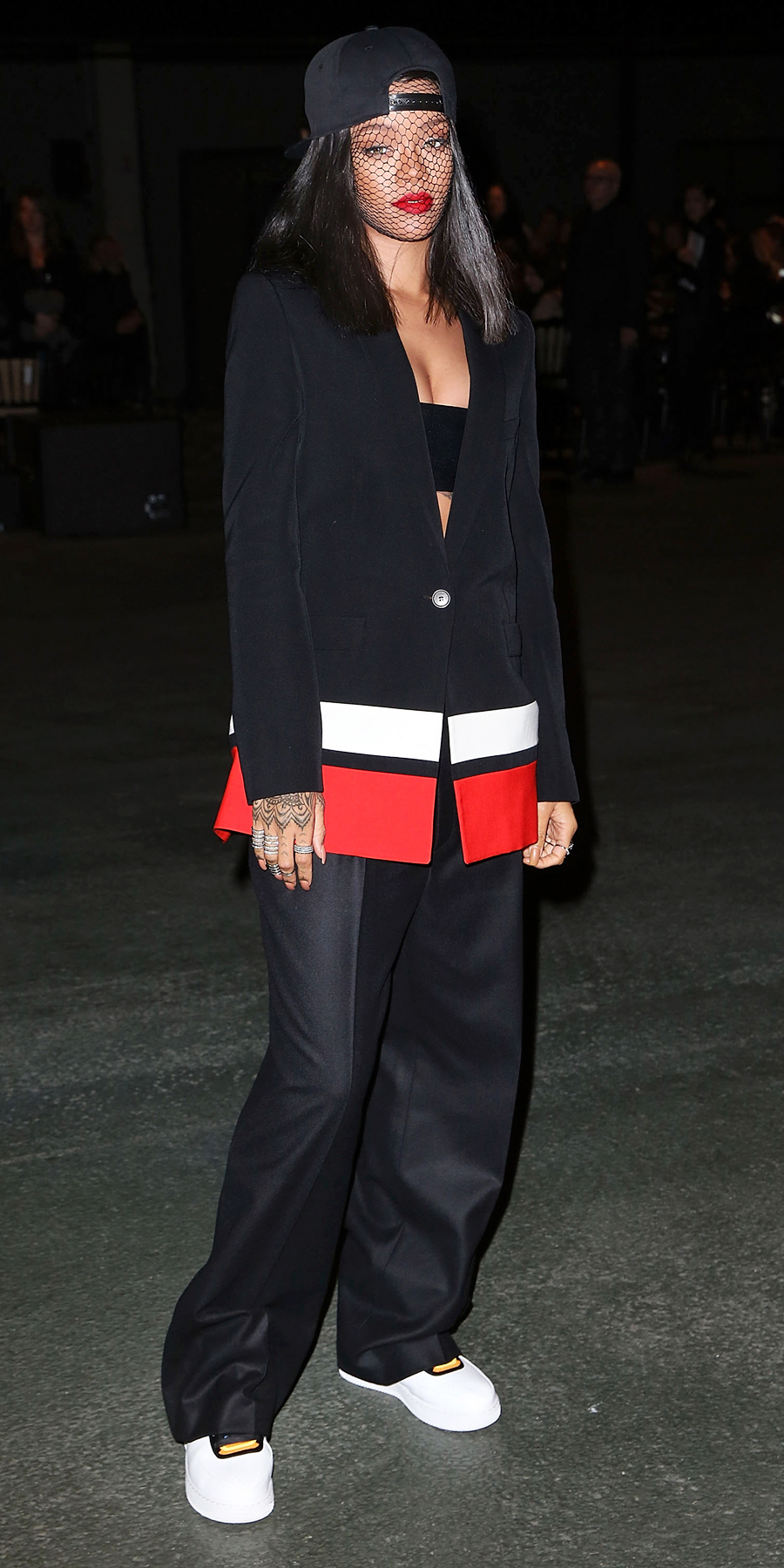 <p>In Givenchy by Riccardo Tisci in Paris (2014)</p>