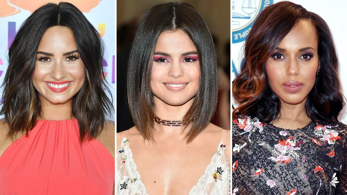 The Best Celebrity Lob Haircuts Of 2017 Instyle