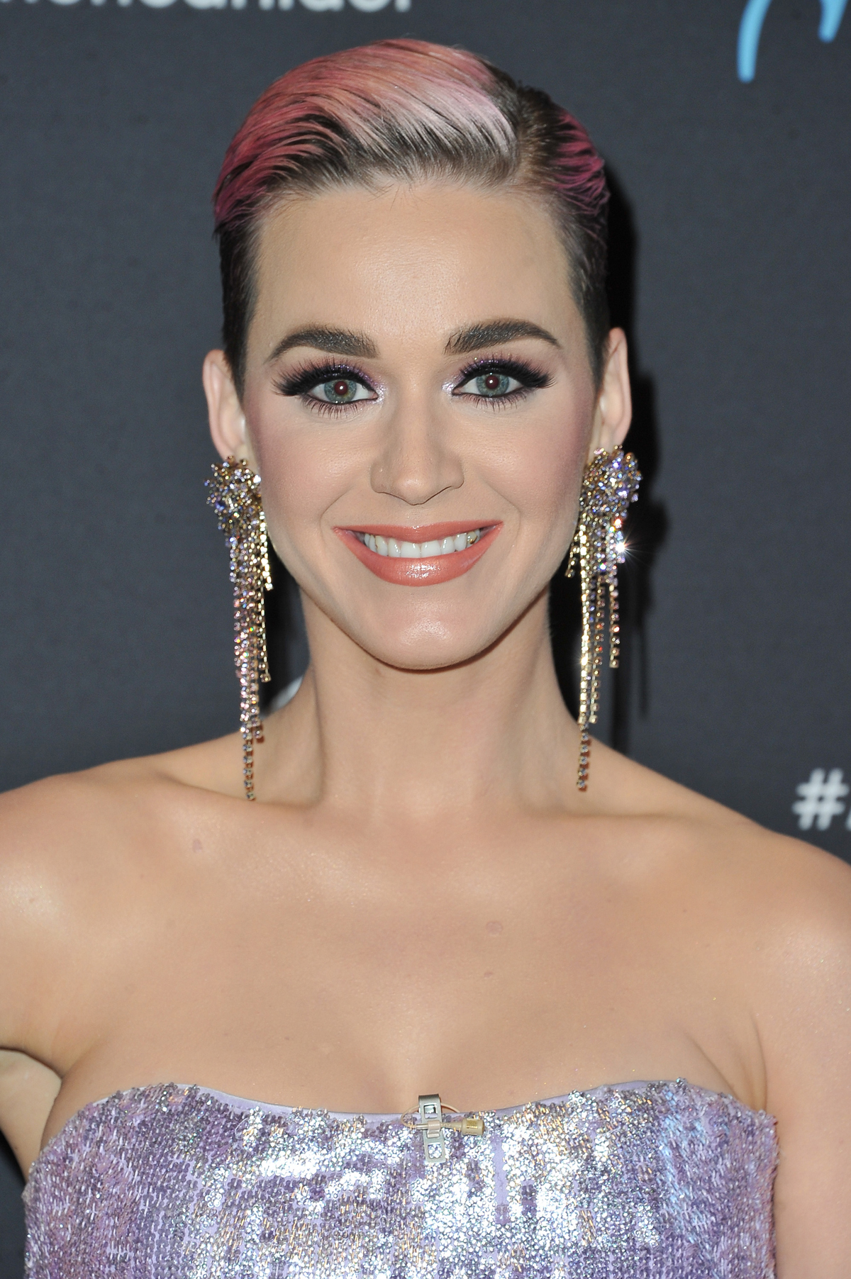 See Katy Perry S New Long Black Hair Instyle Com