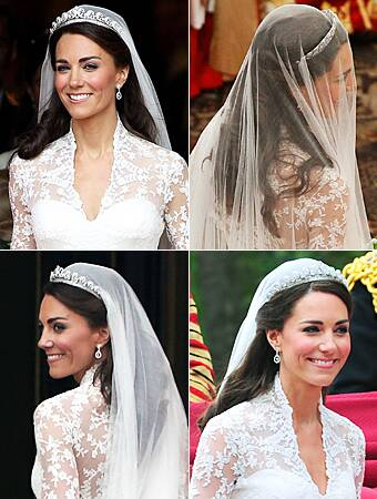 Kate Middleton Wedding Hair