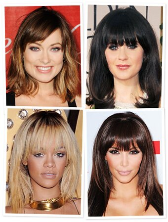 Thinking about bangs try them virtually instyle hairstyles bangs zooey deschanel solutioingenieria Images