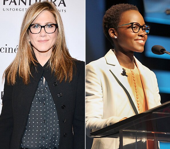 Stylish Celebrities Wearing Glasses | InStyle.com