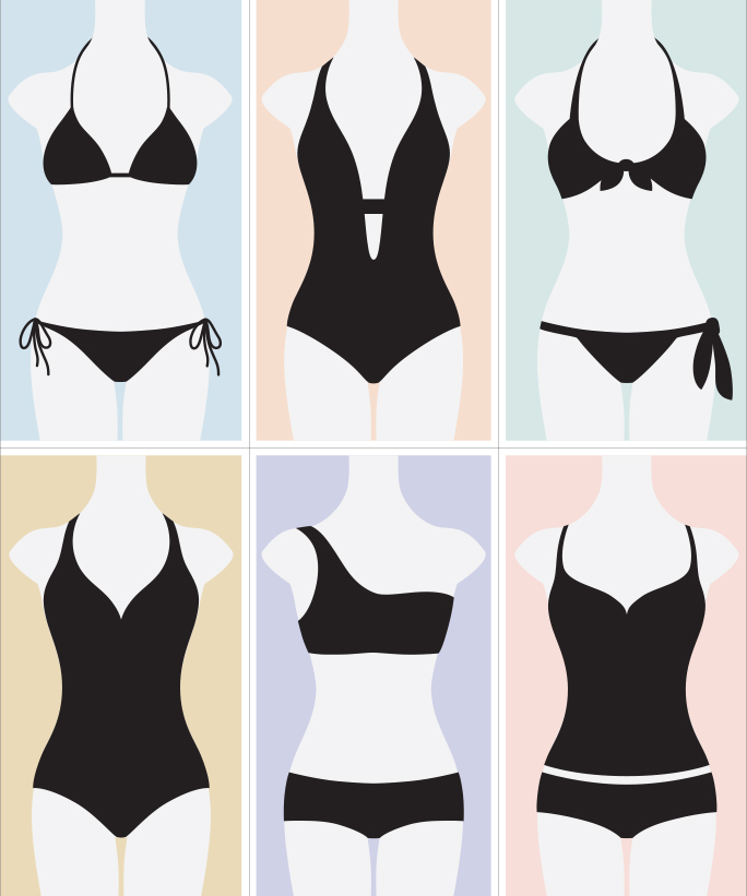 How To Find The Best Swimsuit For Your Body Type Instylecom