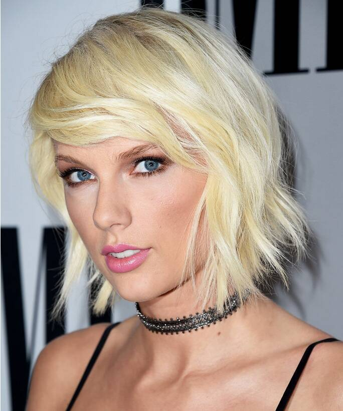 Taylor Swifts Shaggy Haircut Instyle