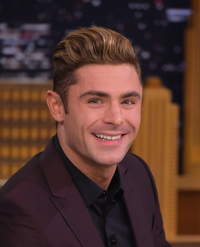Zac efron debuted some major new hair instyle zac efron visits quotthe tonight show starring jimmy fallonquot at rockefeller publicscrutiny Choice Image