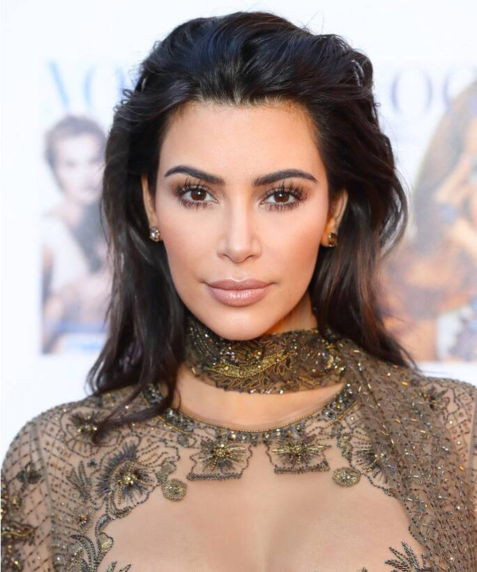 How To Get Kim Kardashians Eyebrows Instyle