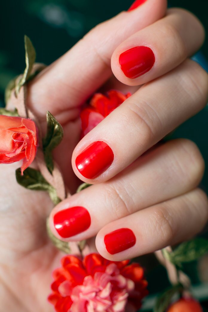 P Favorite Red Nail Polishes