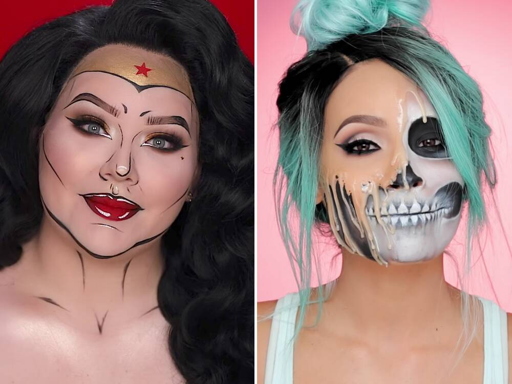halloween makeup tutorials on youtube you won t believe instyle com