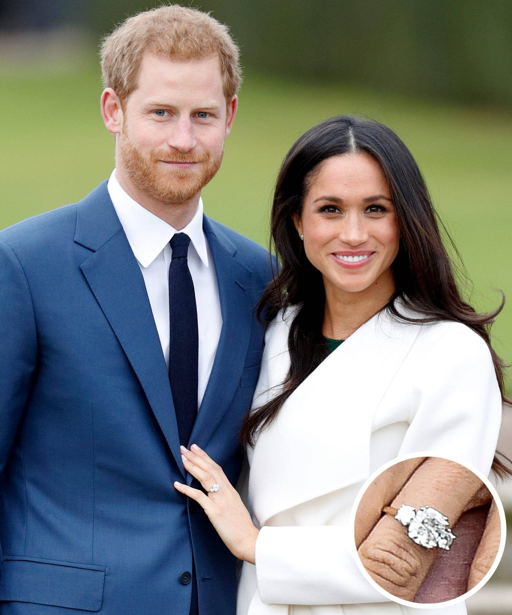 Meghan Markle And Prince Harry Ring Slide