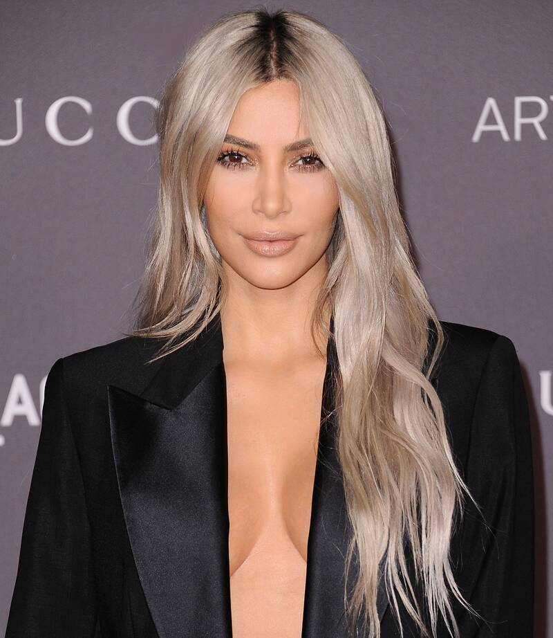 Blonde Hair Dark Roots Celebrity Hair Trend Instyle