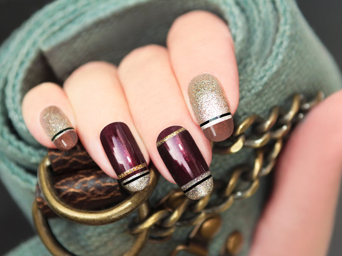 Image result for permanent french nail paint