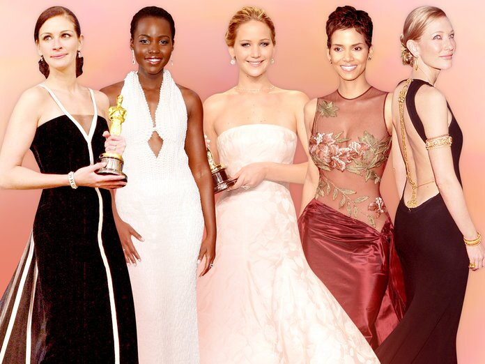 10 Best Oscar Dresses of all Time | InStyle.com
