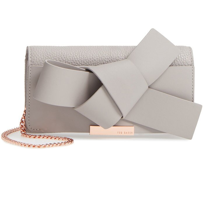 Ted Baker London Giant KnotMatinée Wallet on a Chain