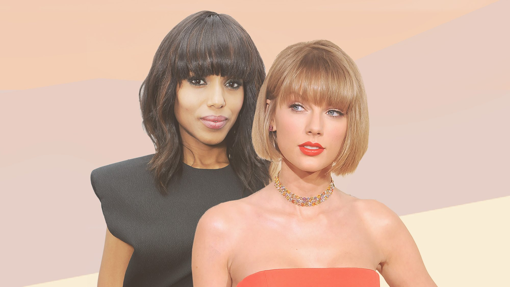 The Best Bangs For Your Face Shape Instyle Com