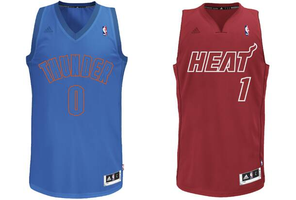 35130451823e NBA s Christmas Day sleeved jersey designs by Adidas reportedly leak ...