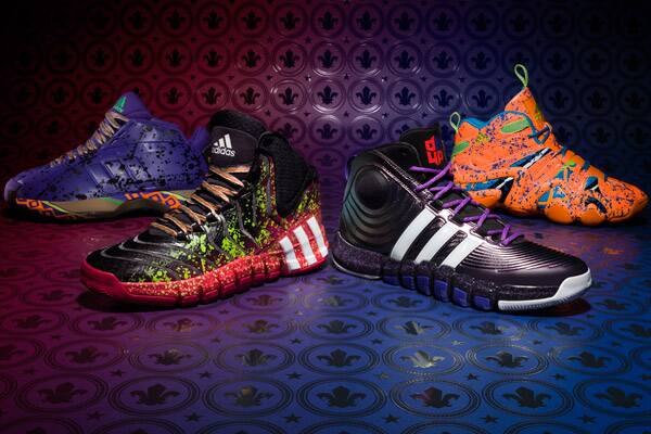 huge selection of 1e4fc 515d7 Adidas has unveiled four sneakers in conjunction with the 2014 NBA All-Star  Game.