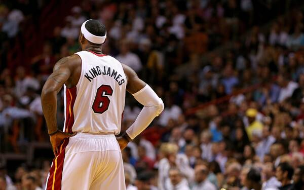 the best attitude 419eb bb9c1 Heat's LeBron James maintains top spot on list of NBA's best ...