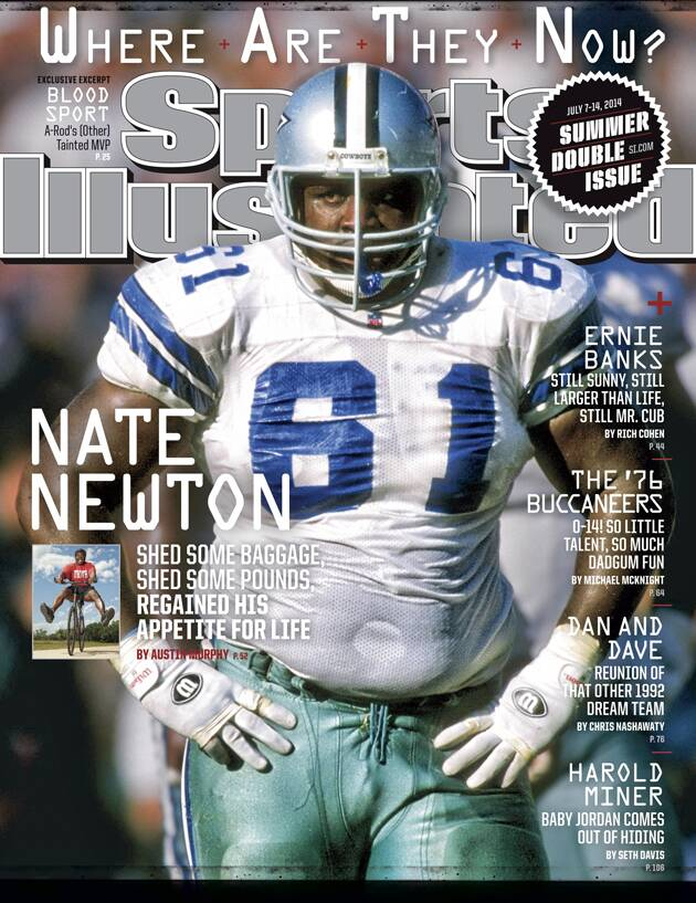 985016bc6 Nate Newton of Dallas Cowboys appears on Sports Illustrated Cover ...