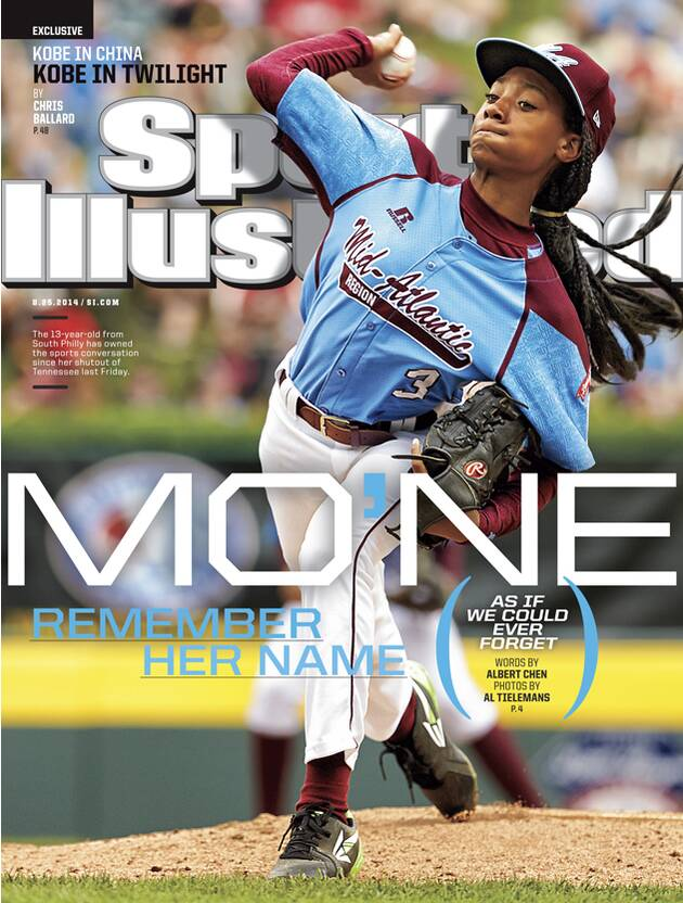 762d51e0a LLWS sensation Mo ne Davis on this week s Sports Illustrated cover ...
